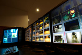 Security camera surveillance system command center